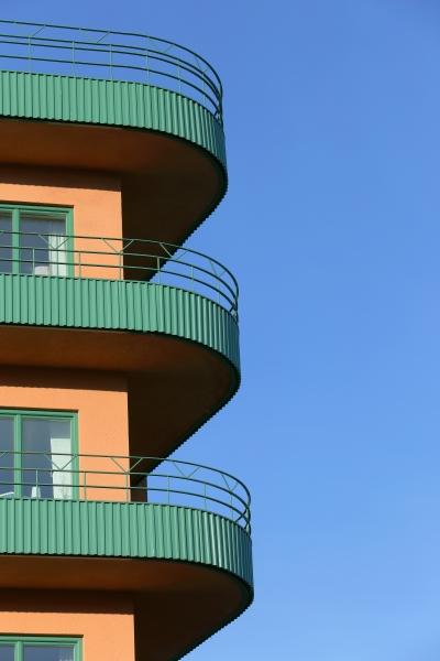 tråkiga balkonger